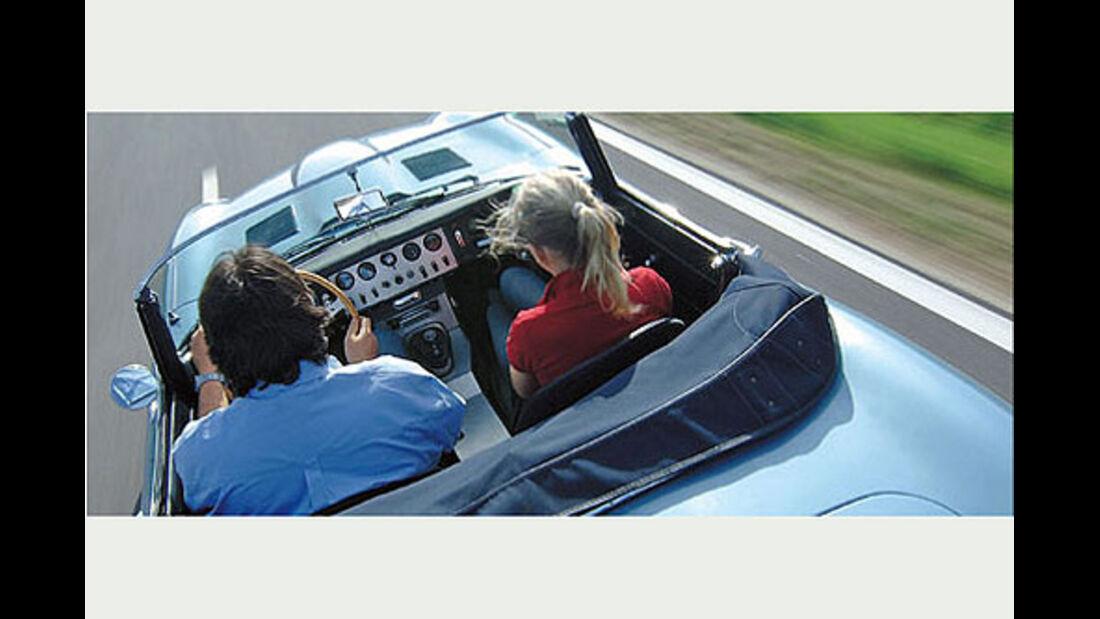 Jaguar E-Type Roadster Serie I