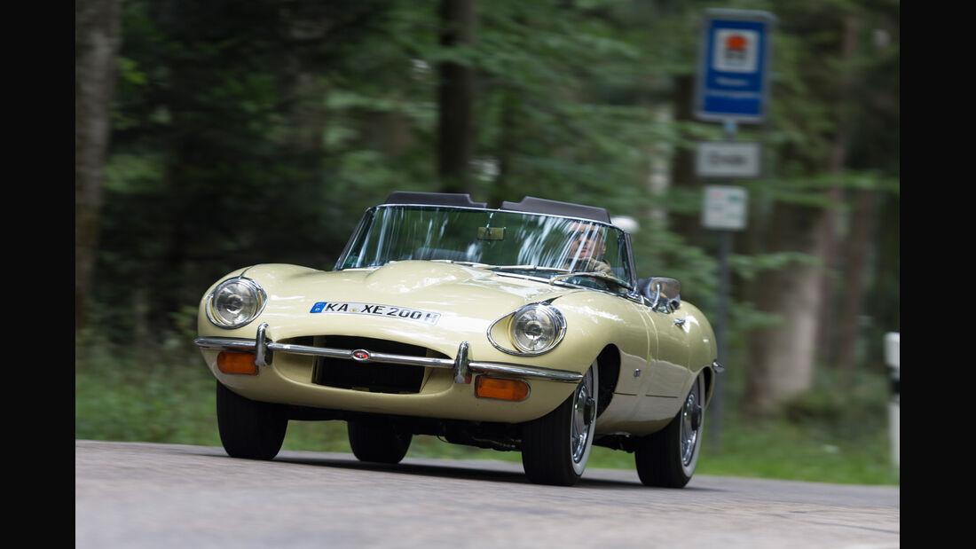 Jaguar E-Type S2, Frontansicht