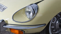 Jaguar E-Type S2, Frontscheinwerfer