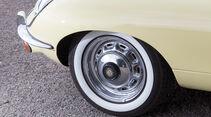 Jaguar E-Type S2, Rad, Felge