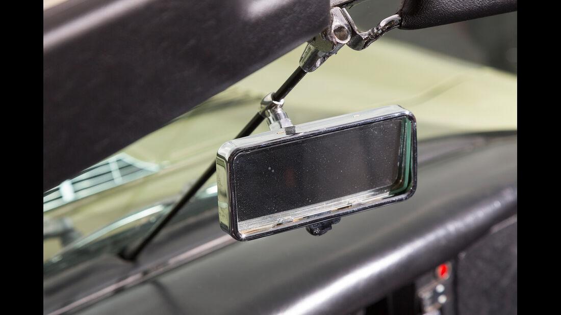 Jaguar E-Type S2, Rückspiegel