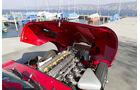 Jaguar E-Type Serie 1, Motorhaube, Motor