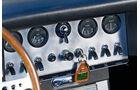 Jaguar E-Type Serie 1, Steuerinstrumente, Armaturenbrett, Detail