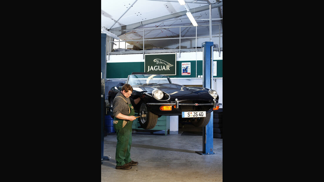 Jaguar E-Type Serie 1 bis 2