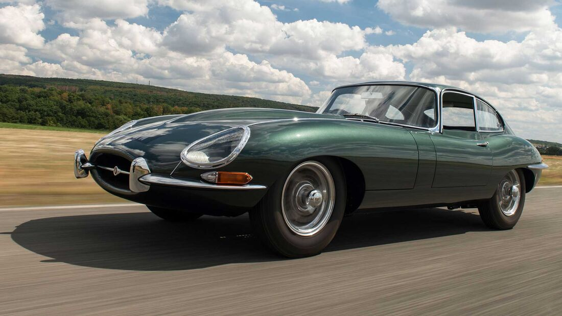 Jaguar E-Type Series 1 3.8-Litre Coupé (1961)