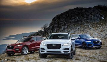 Jaguar F-Pace 20d AWD R-Sport, Jaguar F-Pace 30d AWD, Jaguar F-Pace S AWD V6 Kompressor