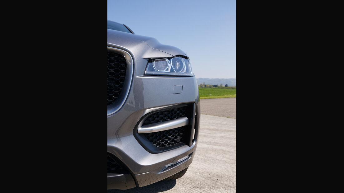 Jaguar F-Pace 30d AWD, Frontscheinwerfer
