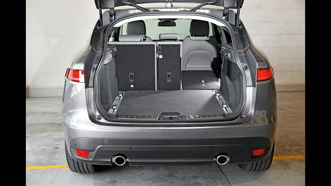 Jaguar F-Pace 30d AWD, Kofferraum