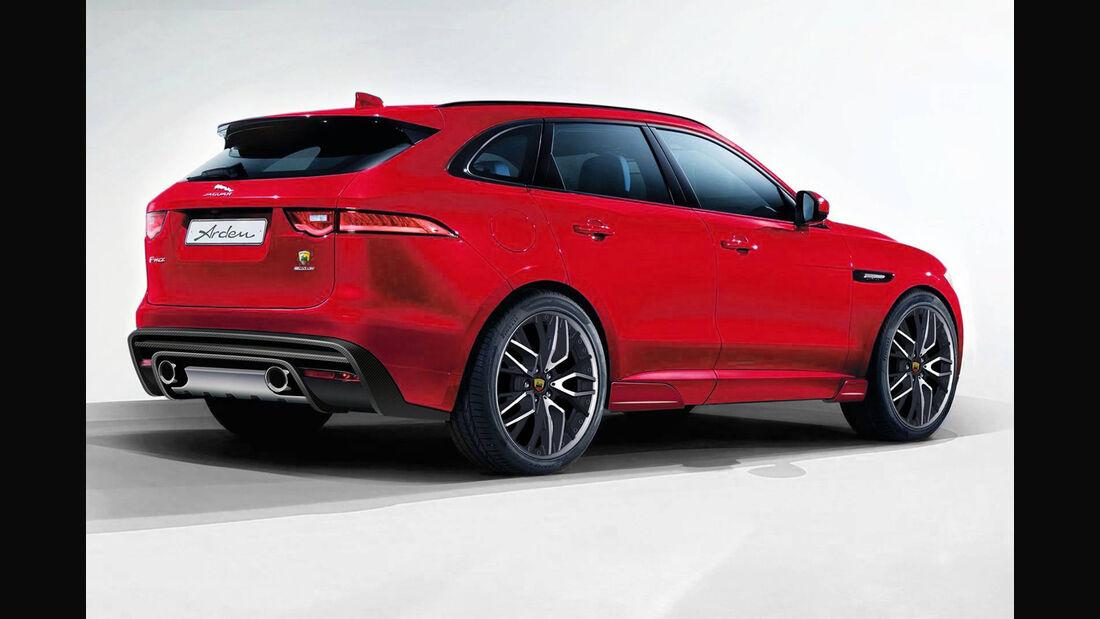 Jaguar F-Pace Anbauteile von Arden