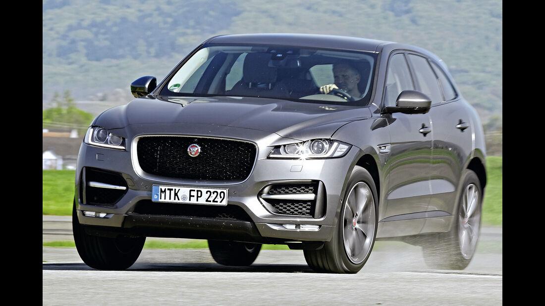 Jaguar F-Pace, Best Cars 2020, Kategorie K Große SUV/Geländewagen