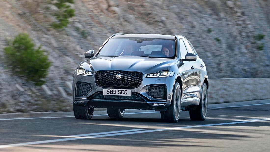 Jaguar F-Pace, Exterieur