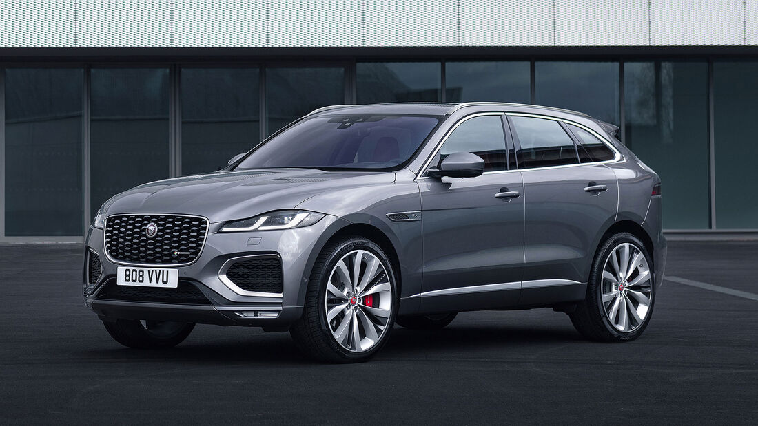 Jaguar F-Pace Facelift MY 2021
