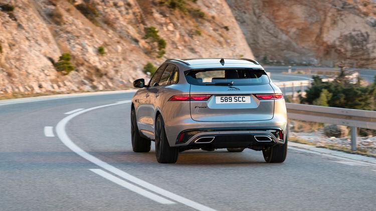 Jaguar F Pace Facelift 2021 Neuer Look Und Neue Antriebe Auto Motor Und Sport