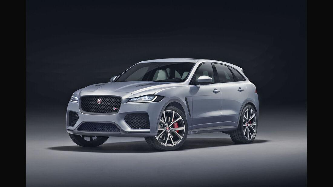 Jaguar F-Pace SVR Weltpremiere New York 2018