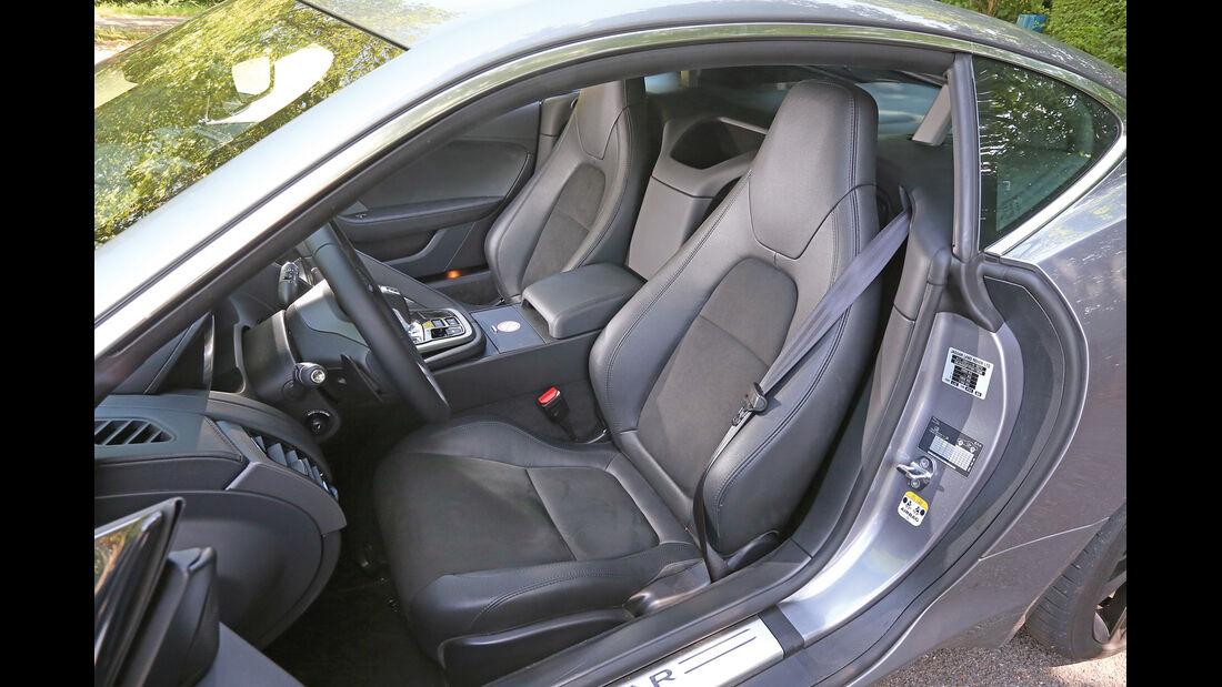 Jaguar F-Type 3.0 V6 Coupé, Fahrersitz