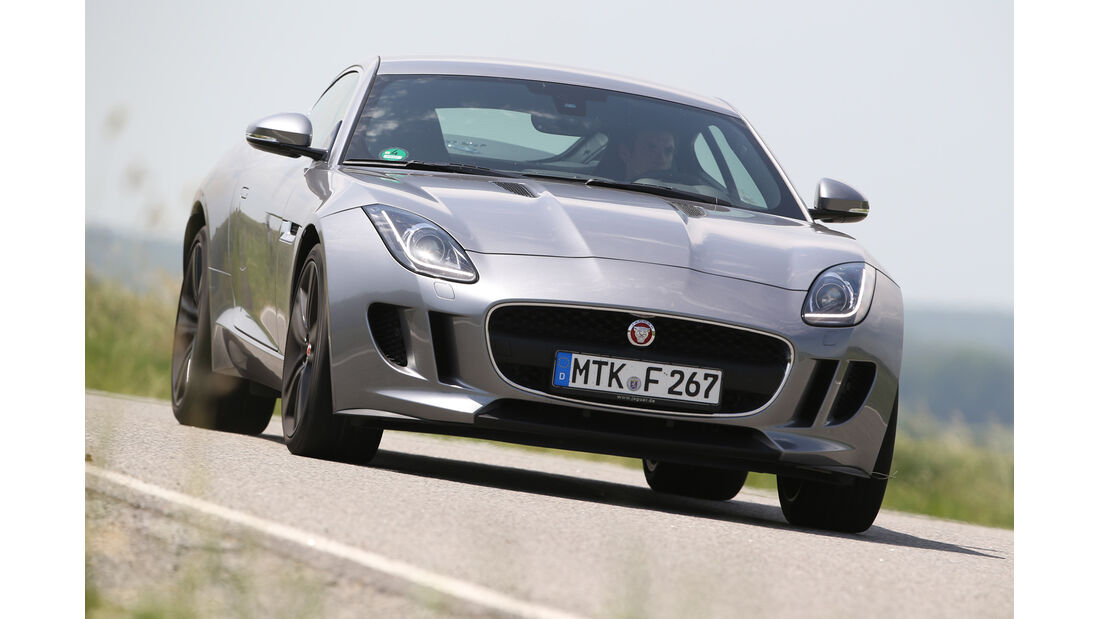 Jaguar F-Type 3.0 V6 Coupé, Frontansicht