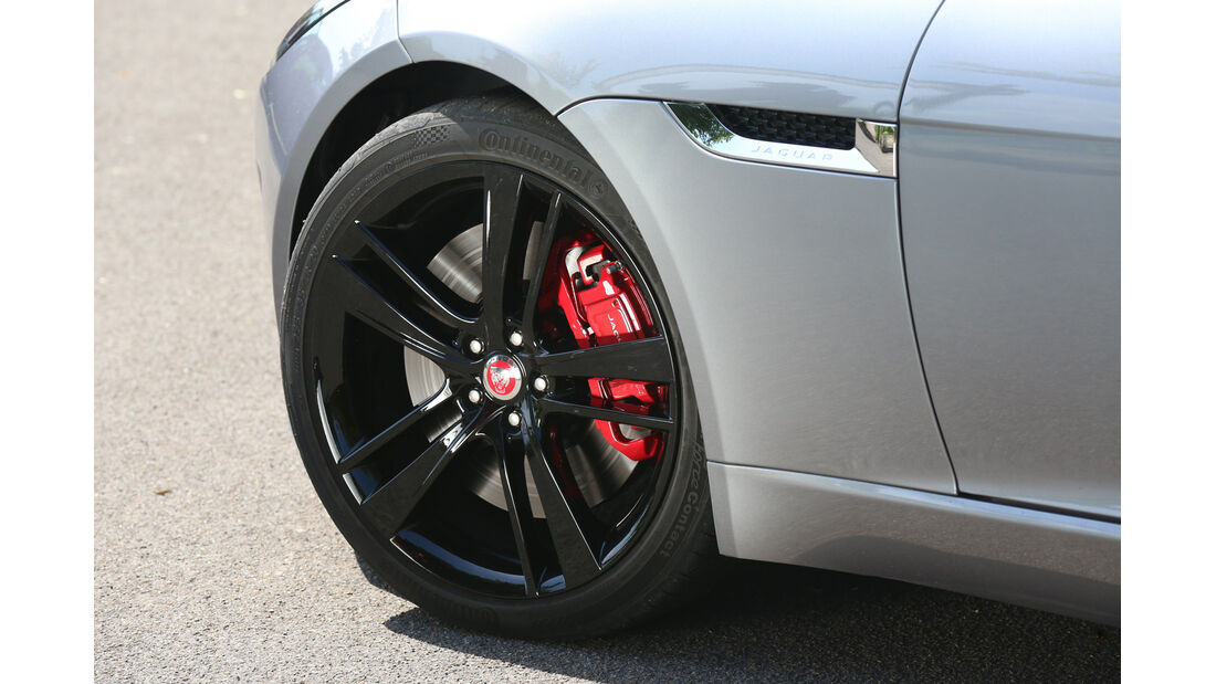 Jaguar F-Type 3.0 V6 Coupé, Rad, Felge, Bremse