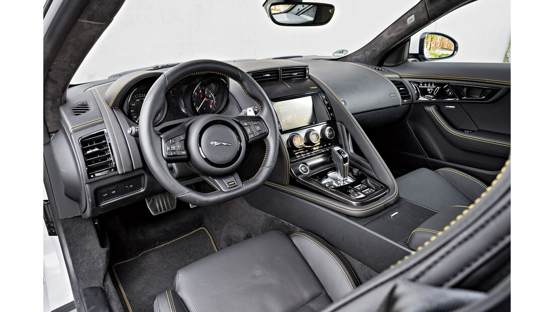 Jaguar F-Type 400 Sport, Interieur