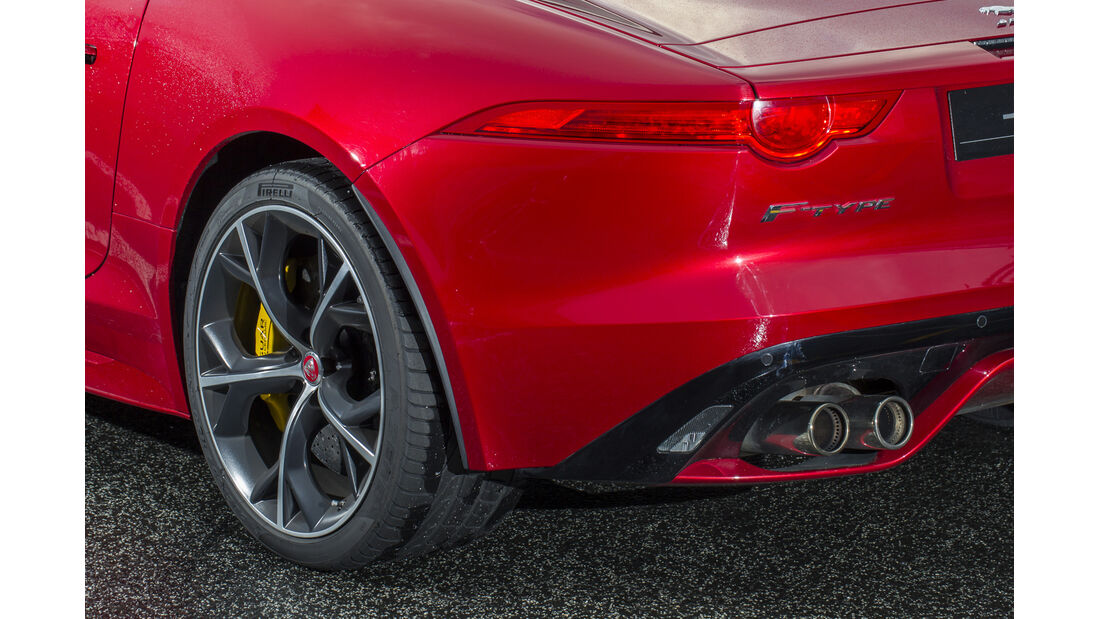 Jaguar F-Type 4x4, ams2015