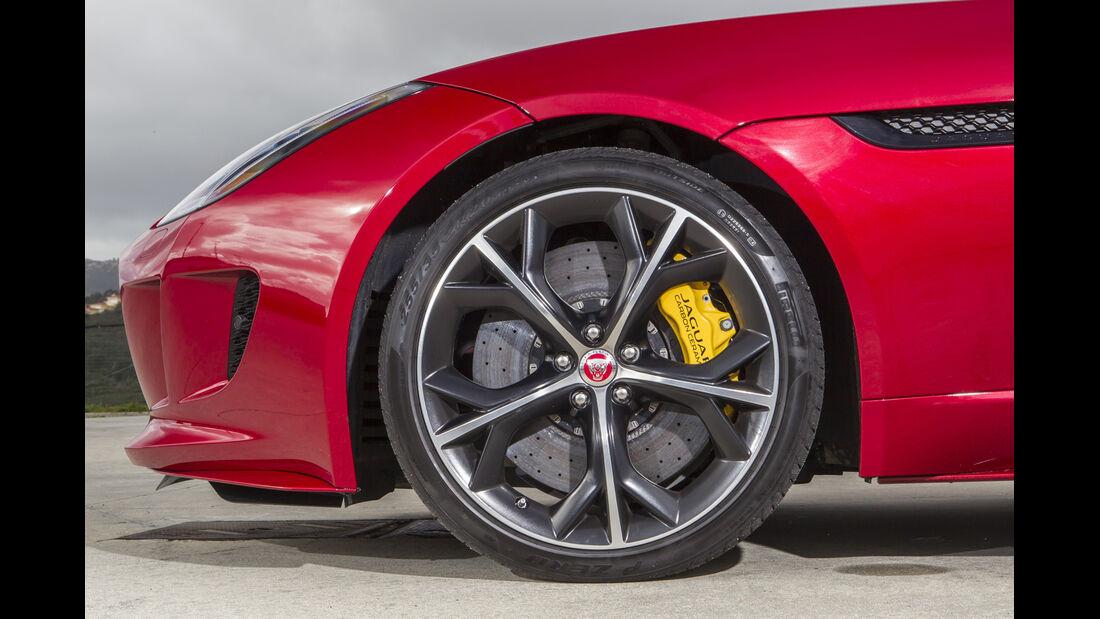 Jaguar F-Type 4x4, ams2015, Reifen