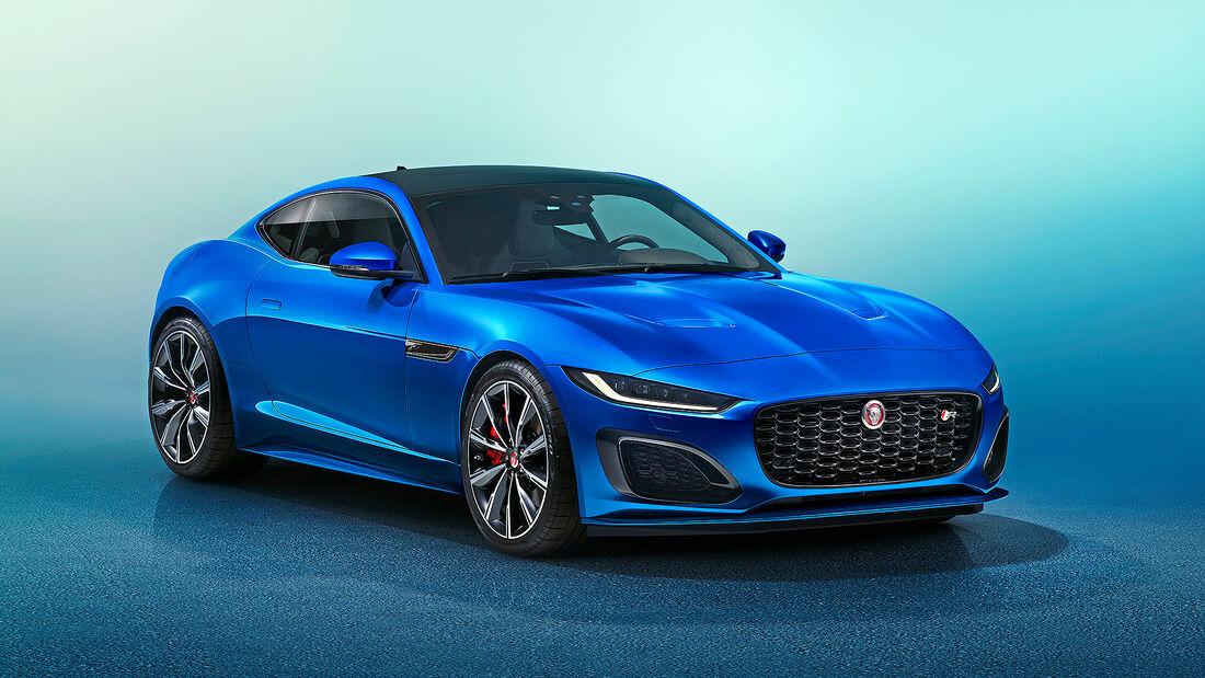 Jaguar F-Type, Autonis 2020
