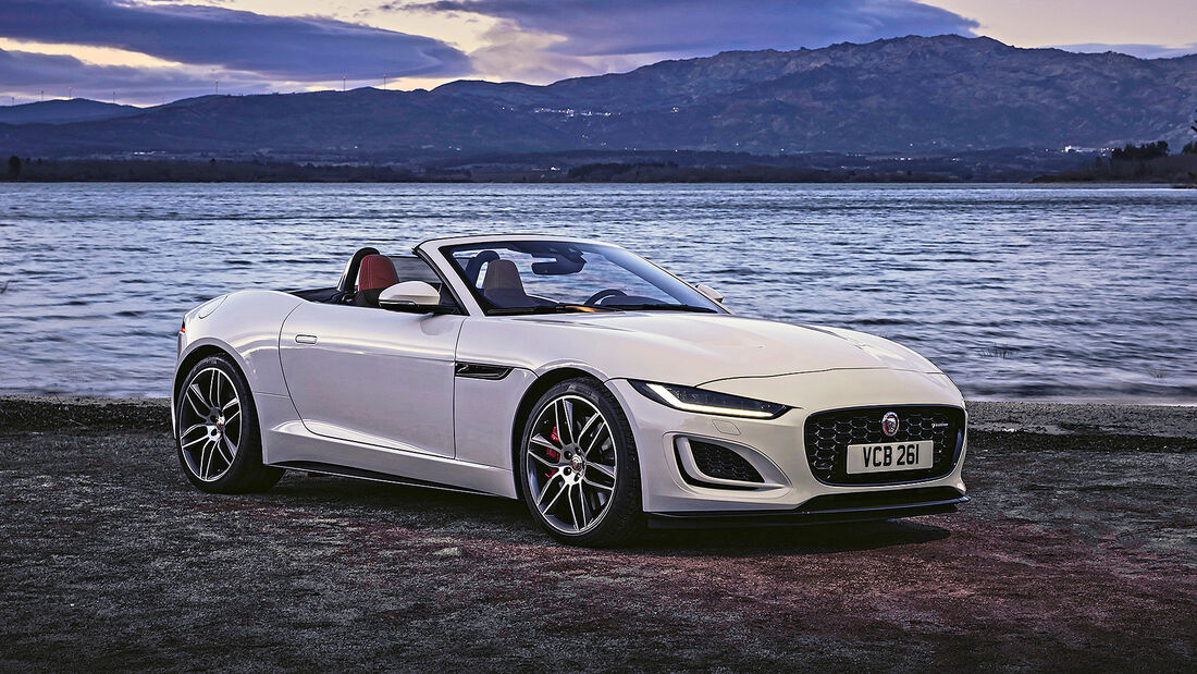 Jaguar F-Type Cabrio, Autonis 2020