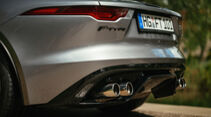 Jaguar F-Type Cabrio P450, Exterieur