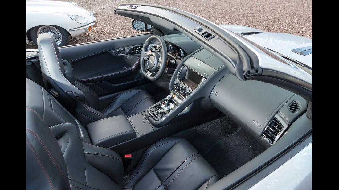 Jaguar F-Type, Cockpit, Sessel