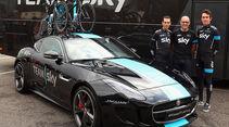Jaguar F-Type Coupé Begleitfahrzeug Tour de France