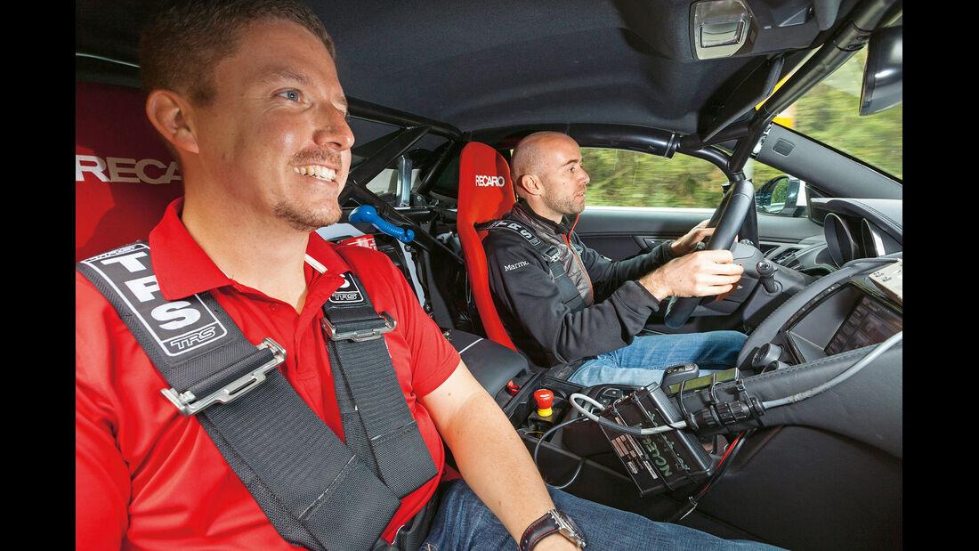 Jaguar F-Type Coupé, Cockpit, Testfahrt, Jens Dralle