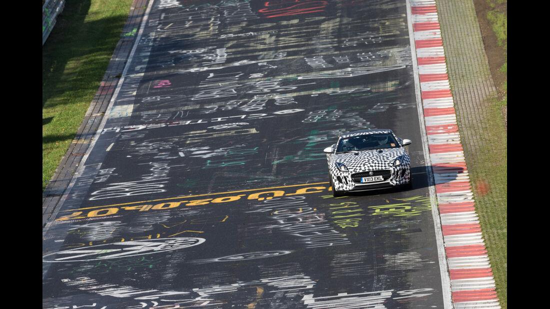 Jaguar F-Type Coupé, Frontansicht