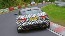 Jaguar F-Type Coupé, Heckansicht