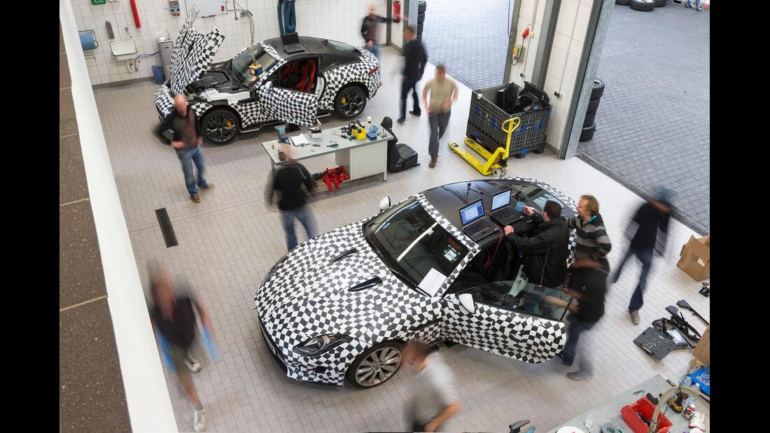 Jaguar F-Type Coupé, Messungen