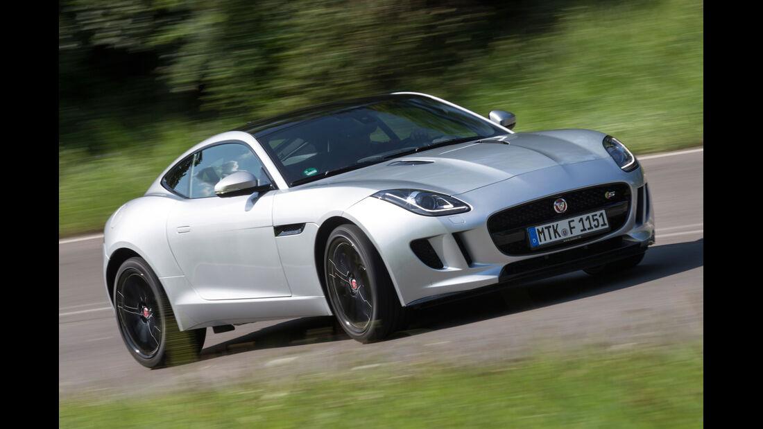 Jaguar F-Type Coupé S, Frontansicht