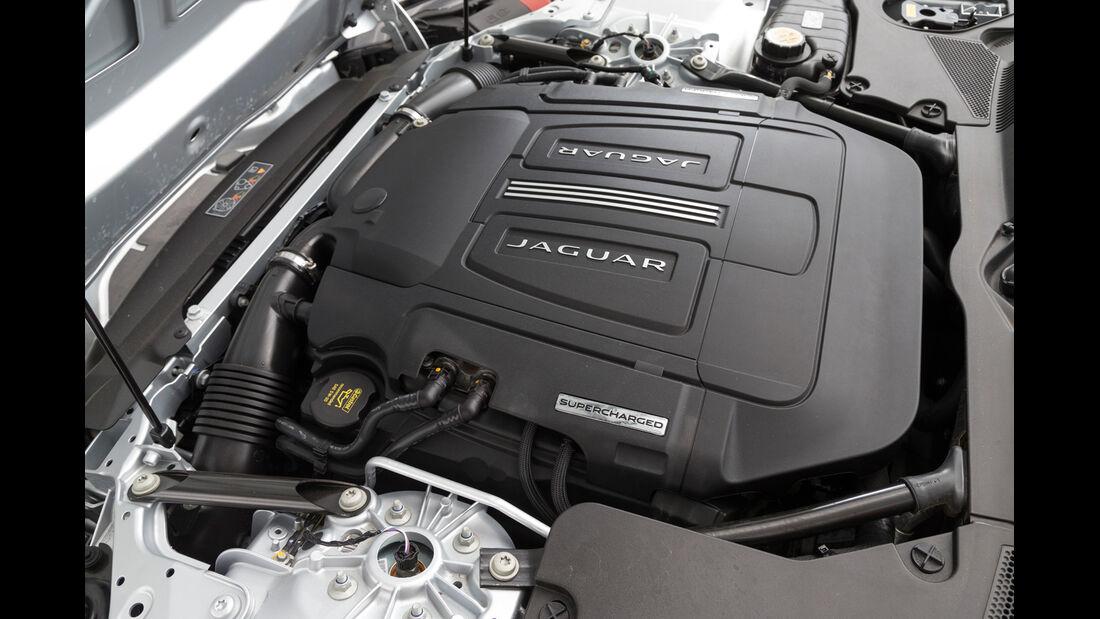 Jaguar F-Type Coupé S, Motor