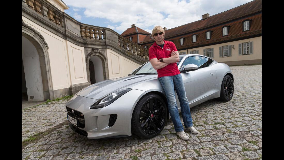 Jaguar F-Type Coupé S, Seitenansicht, Marcus Peters