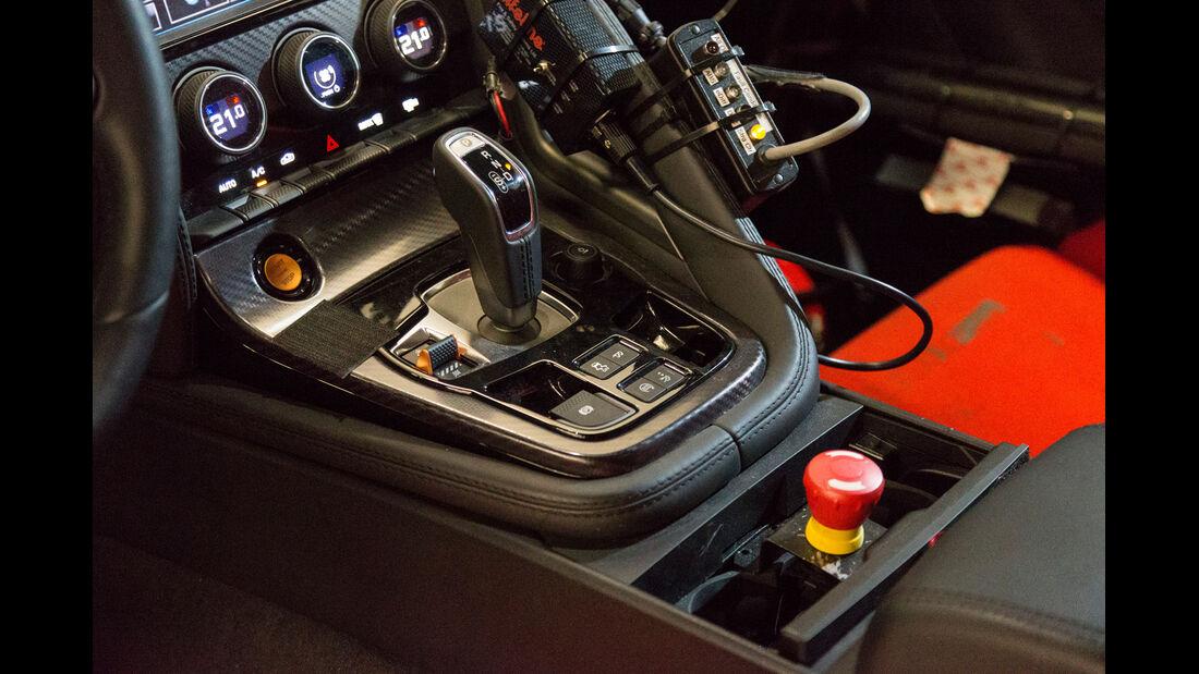 Jaguar F-Type Coupé, Schaltehebel, Mittelkonsole