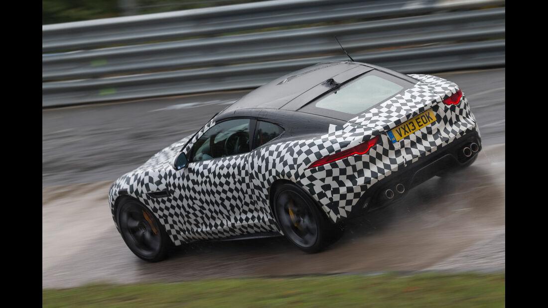 Jaguar F-Type Coupé, Seitenansicht