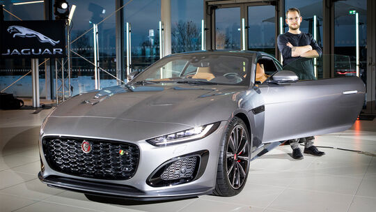Jaguar F-Type Facelift 2020