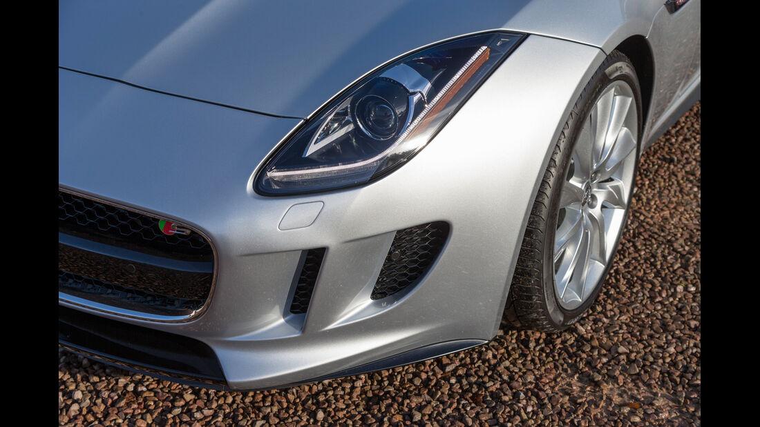 Jaguar F-Type, Frontscheinwerfer