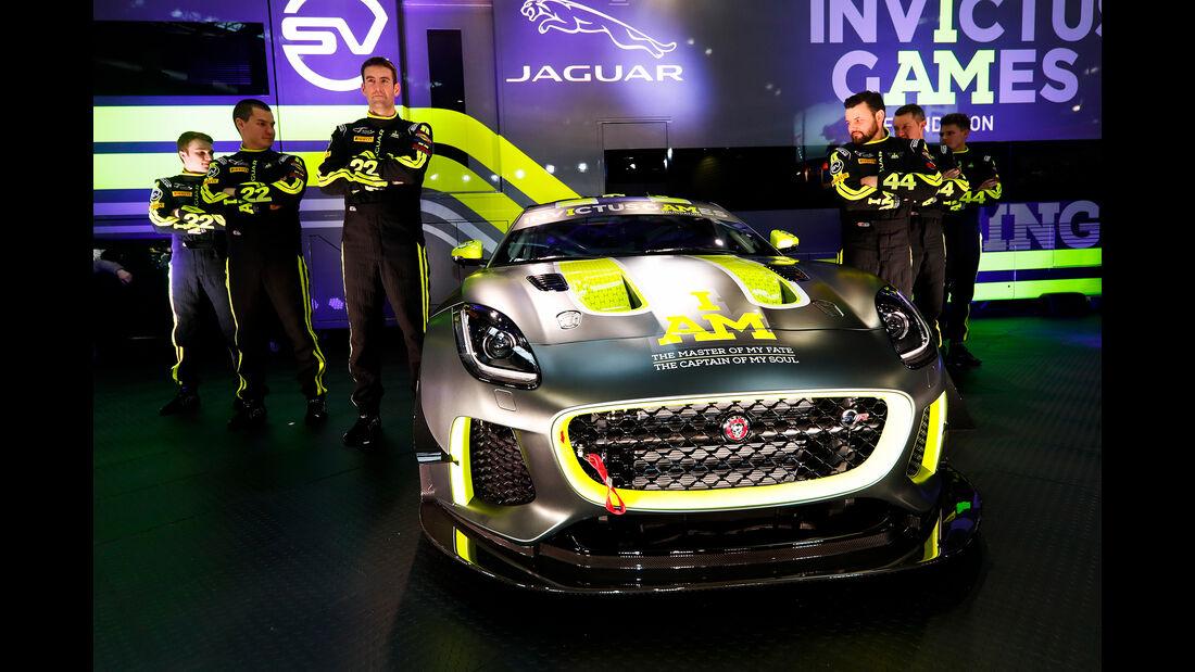 Jaguar F-Type GT4 - Autosport International - Birmingham - 2018