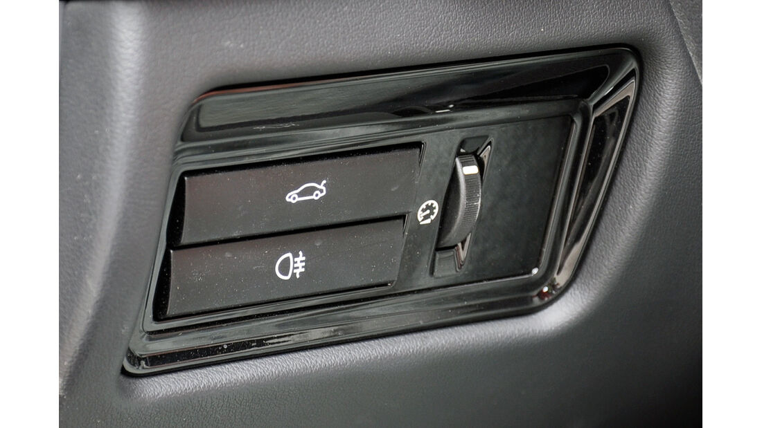 Jaguar F-Type, Heckklappenöffner elektrisch