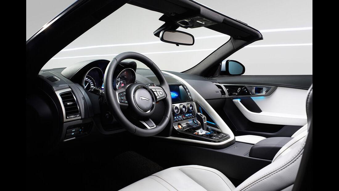 Jaguar F-Type, Innenraum, Sitze, Cockpit