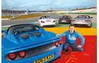 Jaguar F-Type, Lotus Elise S CR, Mercedes SLK 350, Porsche Boxster, Christian Gebhardt