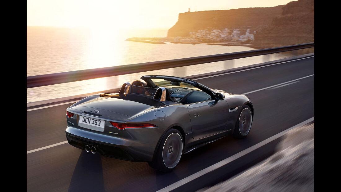 Jaguar F-Type Modelljahr 2018.