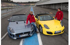 Jaguar F-Type, Porsche Boxster S, Frontansicht
