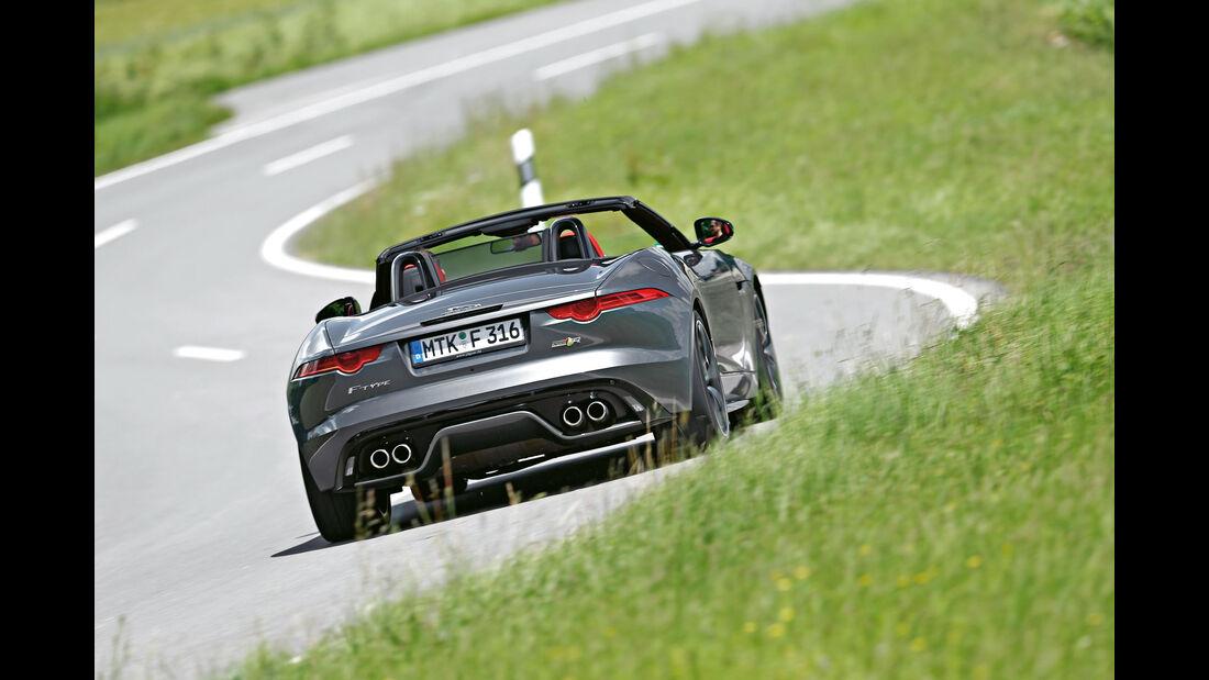Jaguar F-Type R AWD - Cabrio