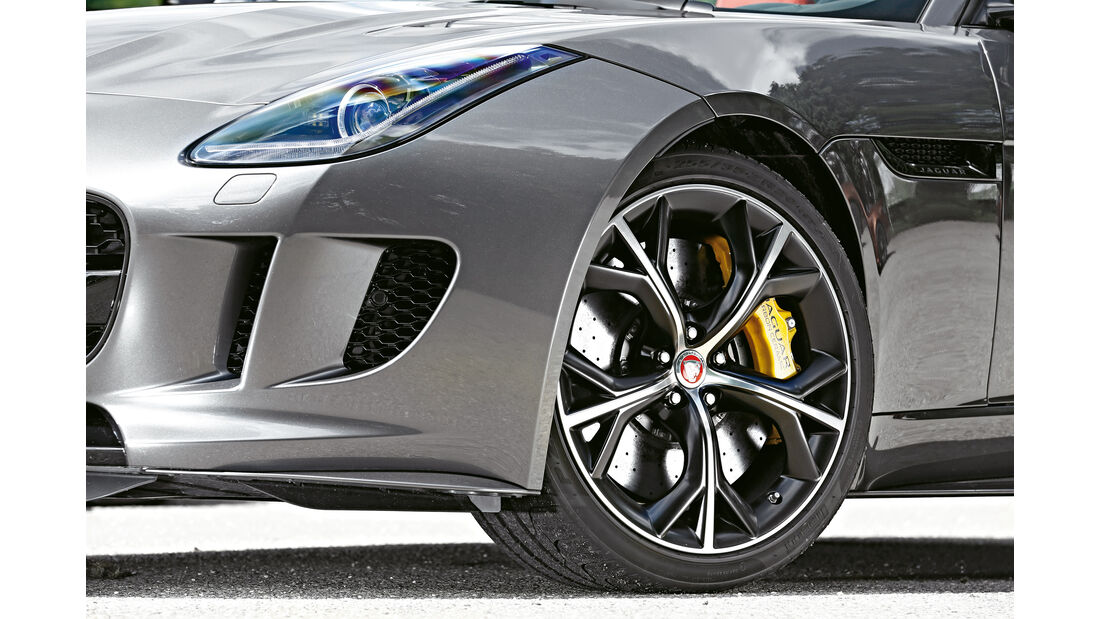 Jaguar F-Type R AWD Cabriolet, Rad, Felge
