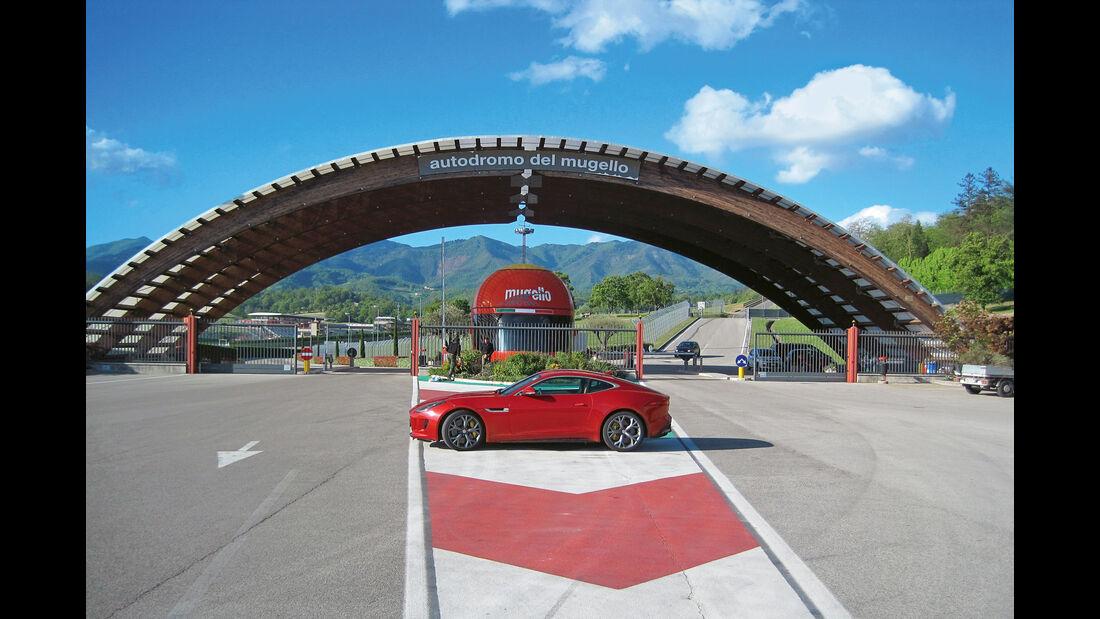 Jaguar F-Type R AWD Coupé, Mugello