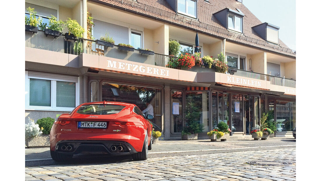 Jaguar F-Type R AWD Coupé, Nürnberg